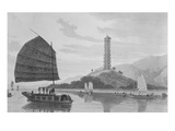 Whampoa Pagoda  1810 (Engraving)