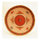 Eastern Woodlands Serving Basket (Woven Fibre)