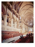 View of the Choir  Built 1098-1130 (Photo)