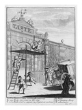 Taste  or Burlington Gate  1732 (Engraving)