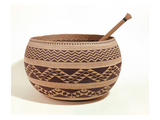 South Western Native American Cooking Basket (Woven Fibre)