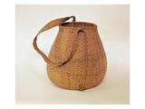 Mashpee Carrying Basket  from Massachusetts (Plant Fibre)