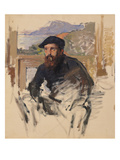 Self Portrait in His Atelier  C1884 (Oil on Canvas)