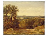 Dedham Vale  C1802 (Oil on Canvas)