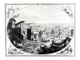 Early Settlement of Venice (Engraving) (Also See 417314)