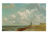 Harwich  the Low Lighthouse and Beacon Hill  C1820 (Oil on Canvas)