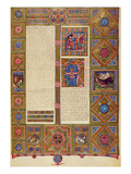 Fol127R the Second Book of Kings  from the Borso D'Este Bible Vol 1 (Vellum)
