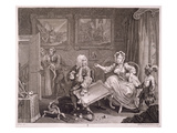 A Harlot's Progress  Plate Ii  from 'The Original and Genuine Works of William Hogarth'