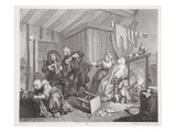 A Harlot's Progress  Plate V  from 'The Original and Genuine Works of William Hogarth'