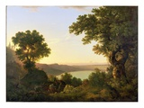 Lake Albano  Italy  1777