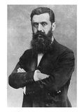 Theodor Herzl  1903 (B/W Photo)