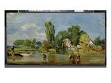 Flatford Mill  C1810-11 (Oil on Panel)
