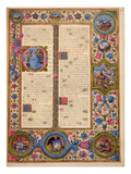 Fol263R Book of Zaccharia  from the Borso D'Este Bible Vol 1 (Vellum)