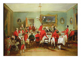 The Hunt Breakfast  Bachelor's Hall  1836 (Oil on Canvas)