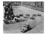 Filming the Chariot Race from 'Ben-Hur'  1925 (B/W Photo)