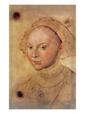 Sybille of Cleves (Crayon and W/C)