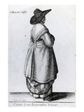 Wife of a Citizen of London  1643 (Etching)