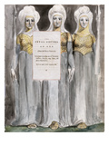 The Fatal Sisters  Design 67 from 'The Poems of Thomas Gray'  1797-98