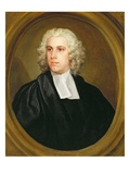 John Lloyd  Curate of St Mildred's  Broad Street  1738 (Oil on Canvas)
