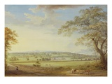Whatman Turkey Mill in Kent  1794 (Gouache  Bodycolour  W/C and Pencil on Paper Laid on Canvas)