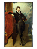 Lord Granville Leveson-Gower  Later 1st Earl Granville  C1804-6 (Oil on Canvas)