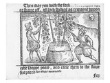 Hop Cultivation  from 'Vade Mecum  a Perfite Platform of a Hoppe Garden' by Reynolde Scot  1576