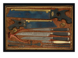 Box of Anatomical Instruments (Wood and Metal)
