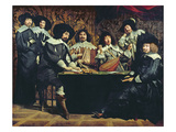The Academy  or the Amateurs&#39; Meeting  C1640 (Oil on Canvas)