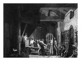 The Forge  1859 (Engraving)