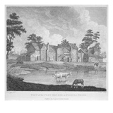 View of the Pest-Houses at Tothill Fields Engraved by Charles Pye  1796 (Engraving)