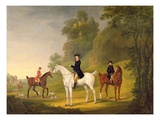 Lord Bulkeley and His Harriers  His Huntsman John Wells and Whipper-In R Jennings  1773