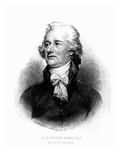 Alexander Hamilton  Engraved by Albert Rosenthal  1888 (Engraving)