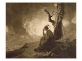 The Indian Widow  1789 (Mezzotint)