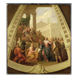 St Paul before Agrippa  C1710 (Oil on Canvas)