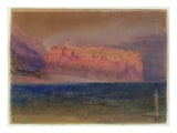 Corsica  (Monaco) C1830-35 (W/C on Brown Paper)