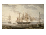 Ships in Harbour  1805