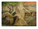 Abraham and Isaac  1799-1800 (Tempera  Pen and Ink on Canvas)