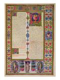 Fol211R Letter from St Paul to Philemon  from the Borso D'Este Bible Vol 2 (Vellum)