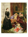 The Governess  1860 (Oil on Canvas)