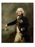 Admiral Lord Bridport (1727-1814) c1795