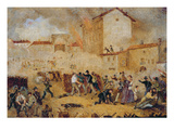 Fighting at Porta Tosa During the Five Days of Milan
