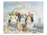 Fish Market by the Sea  c1860