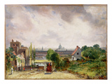 Sir Richard Steele's Cottage  Hampstead  C1832 (Oil on Canvas)