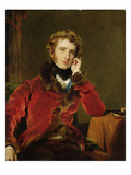 George James Welbore Agar-Ellis  Later 1st Lord Dover  c1823-24