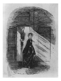 Detail of Amy Dorrit from the Frontispiece to 'Little Dorrit' by Charles Dickens