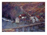 The Bridge at Vervy  1889 (Oil on Canvas)