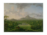 View of Powerscourt  County Wicklow  C1760-2 (Oil on Canvas)