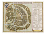 Amsterdam: Labore and Sumptibus  from 'Geographie Blaviane'  1662 (Hand Coloured Etching)