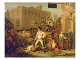 Scene in a London Street  1770