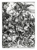 The Four Horsemen of the Apocalypse  1498 (Woodcut)